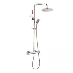 Euro Standard 5 Way Hand Shower Thermostatic Shower