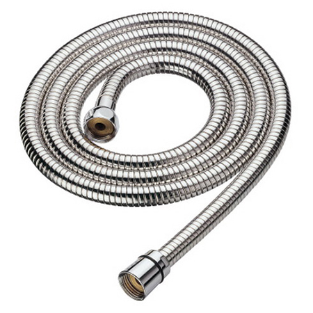 Chrome Finish Stainless Steel Double Hooked Shower Hose