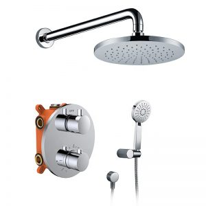 Pressure Balance Shower Diverter 2 Function Thermostatic Shower