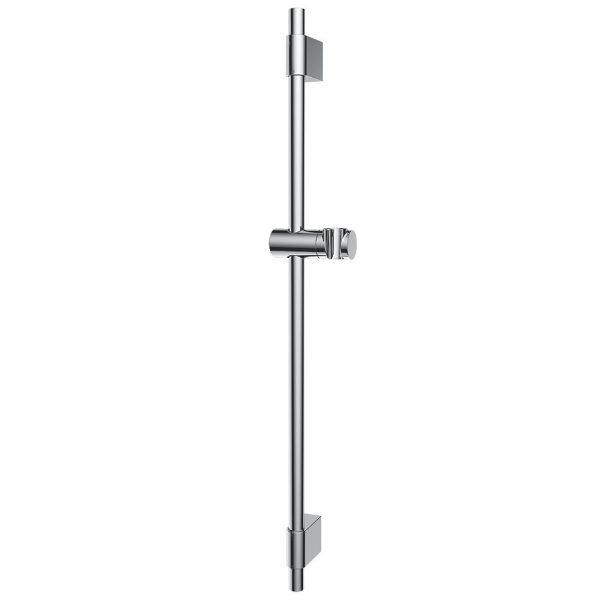 Adjustable Height Shower Head Bracket Stainless Steel Shower Rail