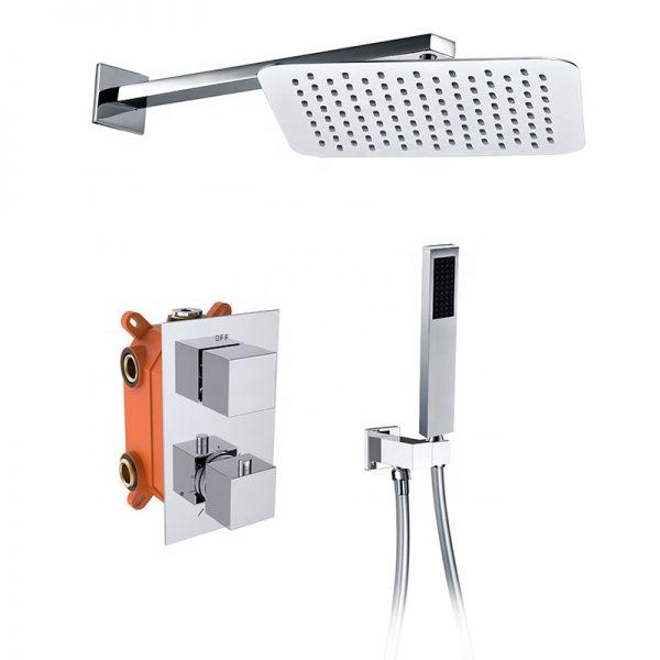Thermostatic Shower Valve 2 Way Pressure Balanced Shower Diverter